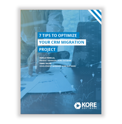 11Tip Sheet- 7 Tips to Optimize Your CRM Migration Project