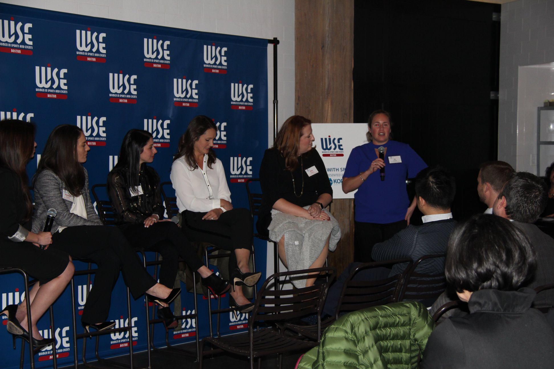 Women in Sports & Events Panel about Sponsorship collaboration between brands and properties.