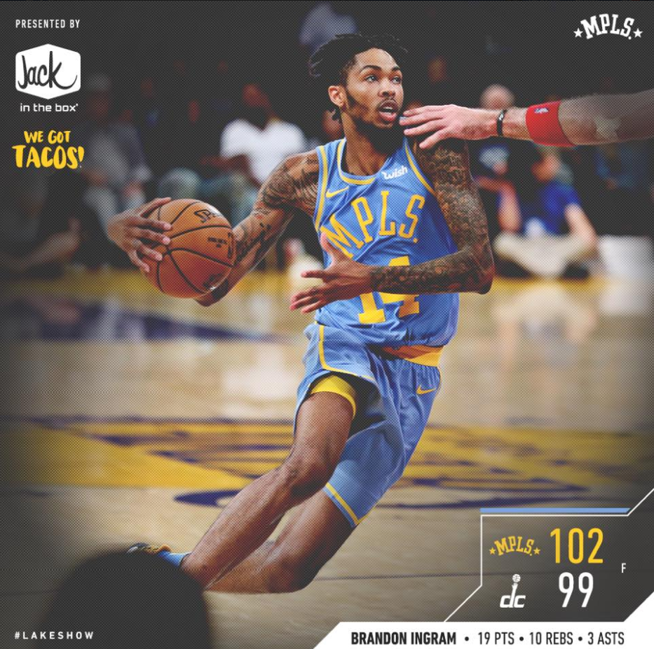Los Angeles Lakers and Jack in the Box Activation